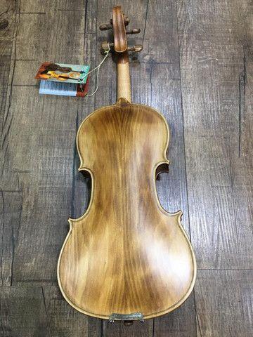 Violino 4/4 Nhureson Maestro Alegretto Profissional serie limitada araucaria premium Ccb - Foto 4