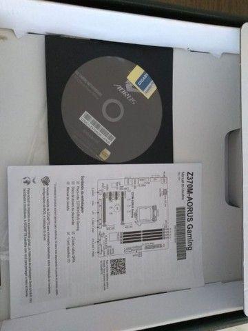 Placa Mãe Gigabyte Gaming Z370M  - Foto 4