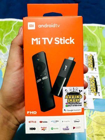MI Tv Stick Lacrado C/ Garantia Versão Global Android TV Smart TV SmartTV