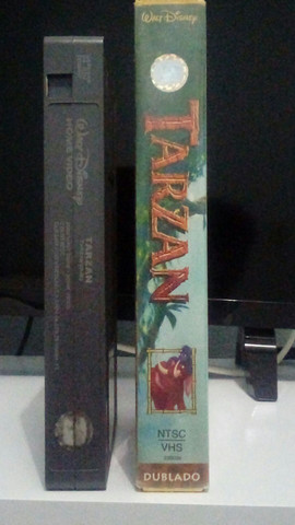 VHS - Tarzan (Dublado)(Original) - Foto 3