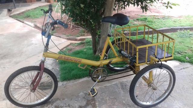 Bicicleta triciclo traçado