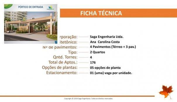 BELLEVILLE - Apartamento em Lançamentos no bairro Forquilha - São Luís, MA - Foto 2