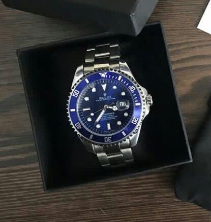Rolex azul