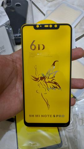 Películas Xiaomi 5D Vidro e gel Flexível Note 8 mi a3 - Foto 3