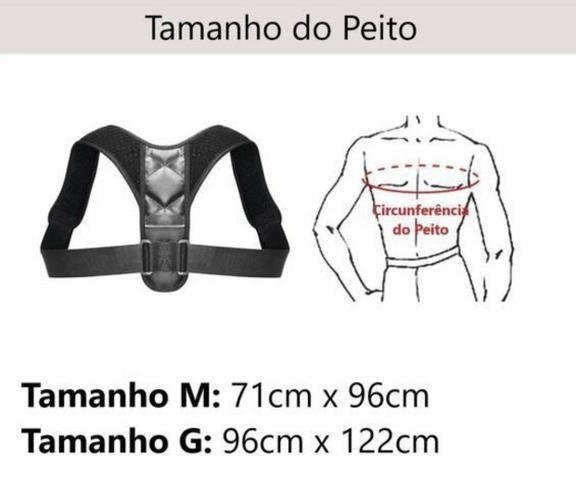 Resultado de imagem para Corretor postural tabela tamanhos