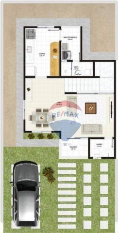 Casa duplex em novo bairro da cidade - Foto 6