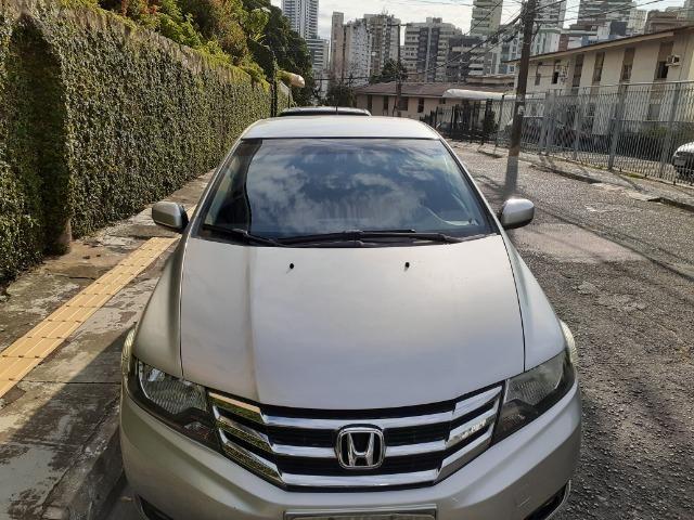 Honda City LX Flex Aut. 2013/2014, prata, único dono, 48.000 km - Foto 3