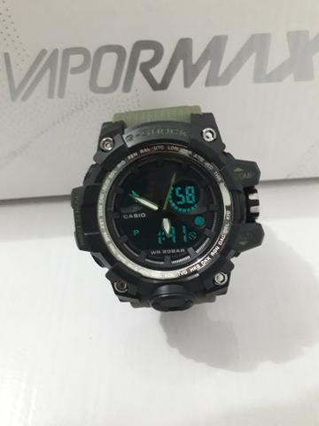 410c8572538 Relógio Casio G-Shok (pulseira verde) - Bijouterias