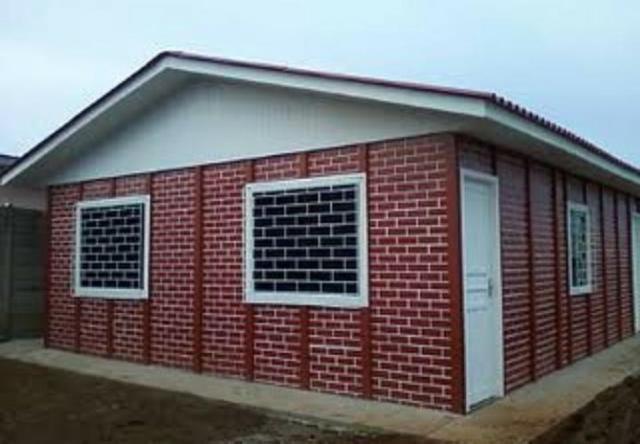 Casas pré moldadas