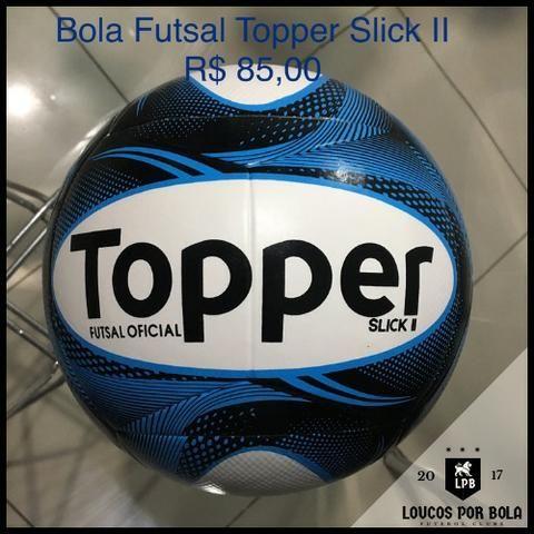 d7bd308b9d Bola Futsal Topper Slick II Azul - Esportes e ginástica - Aleixo ...