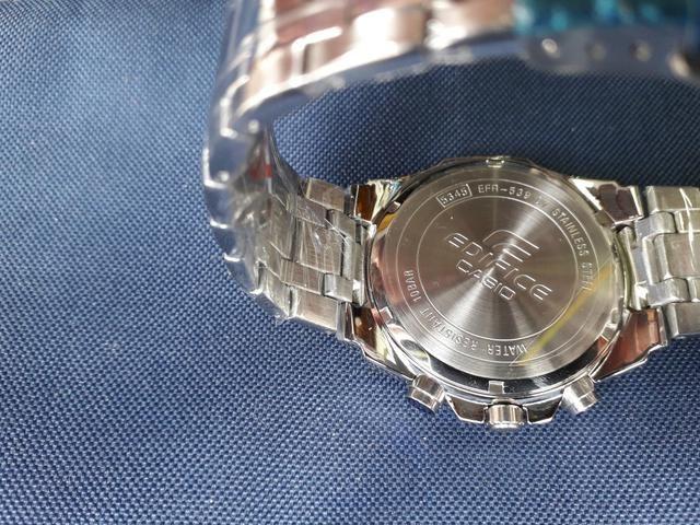 1af2bf772cd Lindo Relógio Casio Edifice Original Prata - Bijouterias