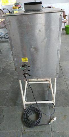 Maquina de Caldo de Cana Elétrica Luxo Inox FC-200 - Foto 6