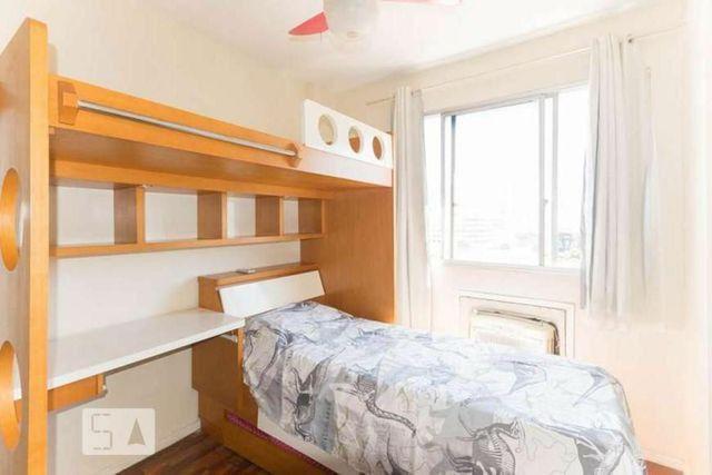 Metrô na porta - Lindo ap 2 quartos (reversível p/ 3),dependência c/ banheiro, reformado - Foto 9