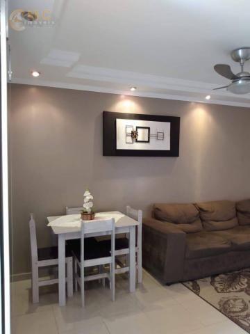 Apartamento com 3 dormitórios à venda, 50 m² por R$ 175.000 - Vila Padre Manoel de Nóbrega - Foto 2