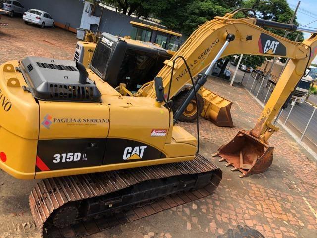 Escavadeira Cartepillar 315D ano 2008 em otimo estado - Foto 3