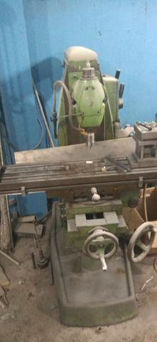 Fresa vendo ou troco por prensa ou dobradeira - Foto 4