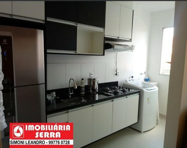SCL - 05 - Aluga - se Apartamento 2 Qtos com suíte, com mobilia - Foto 3
