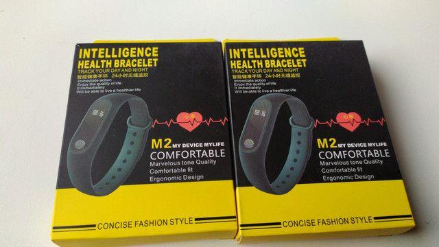 Relogio Pulseira Corrida Frequencia Monitor Cardíaco M2 - Foto 3