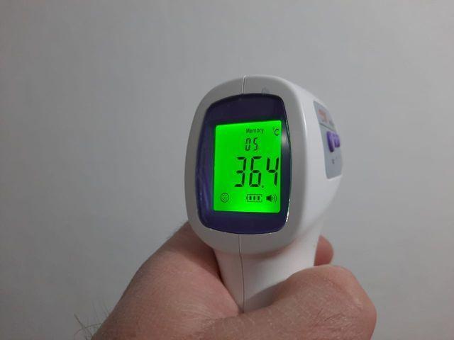 Termômetro Digital infravermelho yobekan KV - 11 - Foto 4
