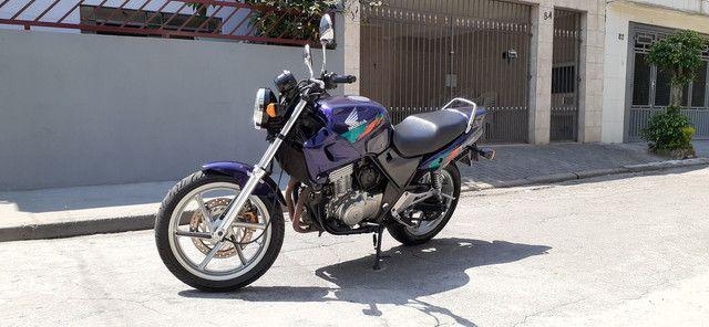 Cb500 vende ou troca por moto menor ou carro - Foto 6