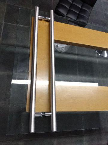 Alça de aço inox 304 escovado - Foto 3