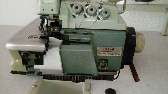Maquina de costura OVERLOCK INDUSTRIAL COMPLETA - Foto 5