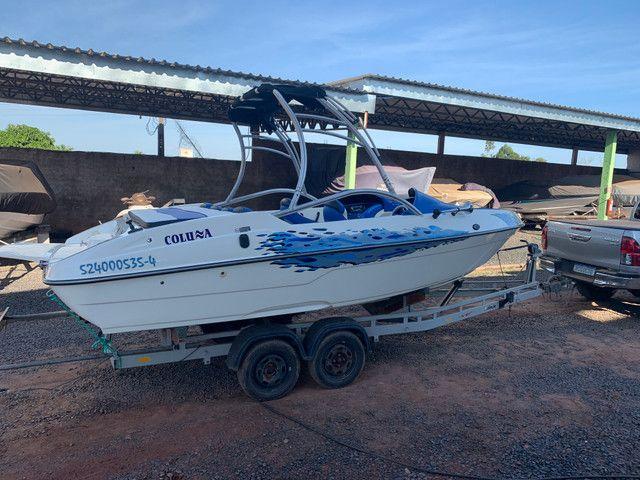 Lancha Jet boat colunna mercury 250 HP - Foto 4