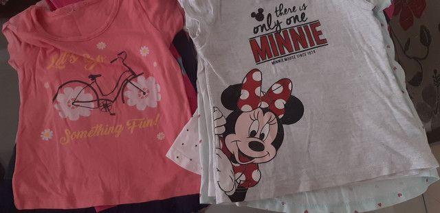 Lote camisetas menina - Foto 3