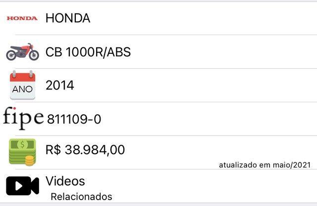 Honda CB 1000R, ano 2014 - Foto 13