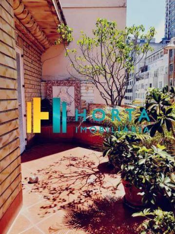 Apartamento à venda com 4 dormitórios em Copacabana, Rio de janeiro cod:CPAP40385