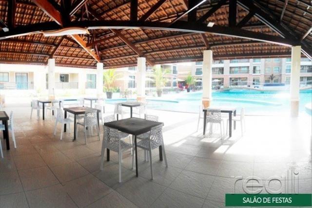 Apartamento à venda com 4 dormitórios em Porto das dunas, Aquiraz cod:RL613 - Foto 4