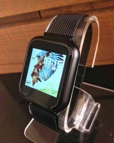 SmartWatch P70 a prova d'água IOS e Android: - Foto 3