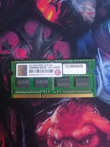 Memória RAM DDR3 4gb 1333.