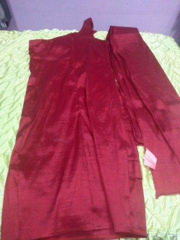 Vestido tubinho vermelho  - Foto 2