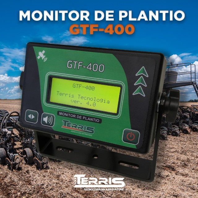 Palntio Eficaz Monitor de plantio GTF-400