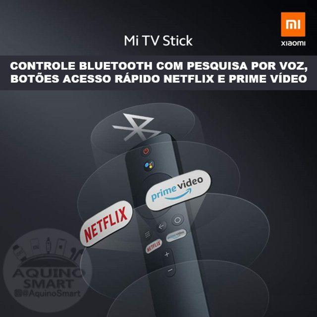 MI Tv Stick Lacrado C/ Garantia Versão Global Android TV Smart TV SmartTV - Foto 4