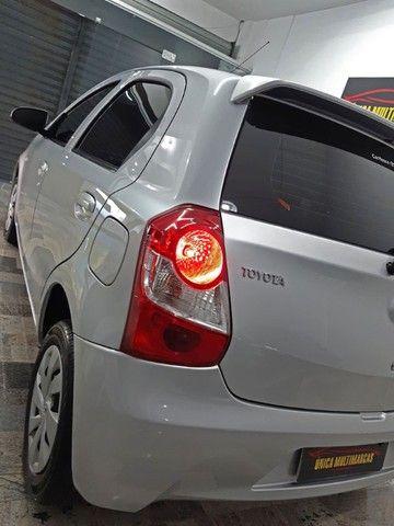 Toyota Etios X 1.3 completo / Multimidia Original / Pneus novos / Ipva Pago - 2016 - Foto 13