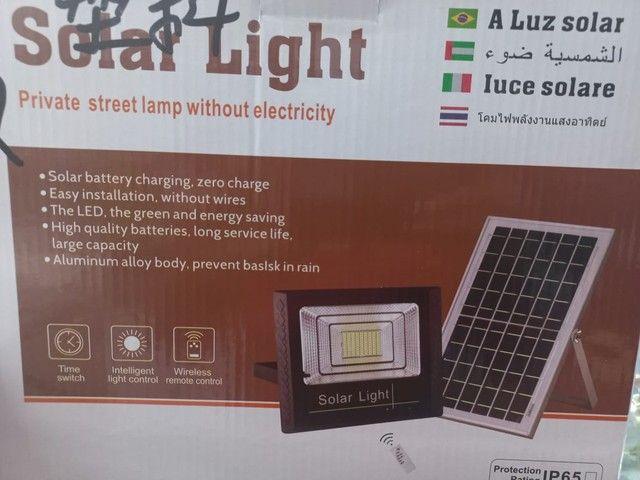 Lâmpadas solares de 40 até 300 wats - Foto 5