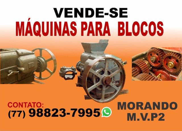 Maromba MVP2+Maquina de fazer bloco