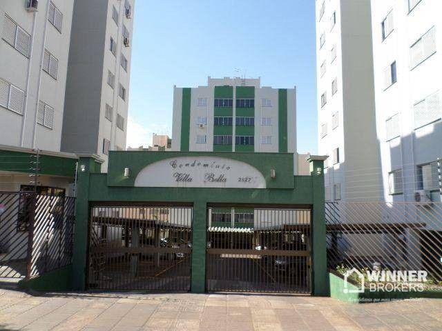 Apartamento com 3 dormitórios para alugar, 69 m² por R$ 950,00/mês - Vila Bosque - Maringá