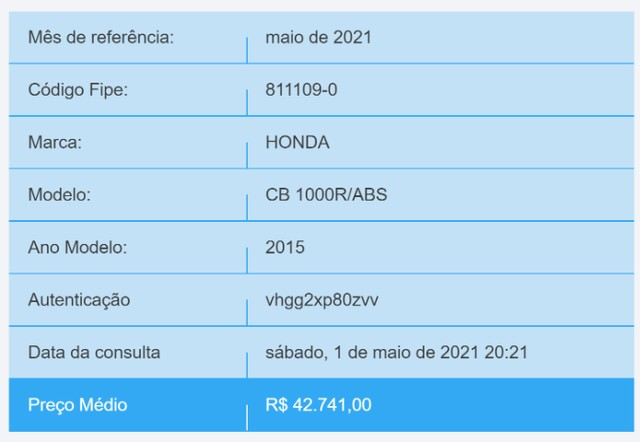 CB1000R Barracuda 2015 impecável - Foto 7