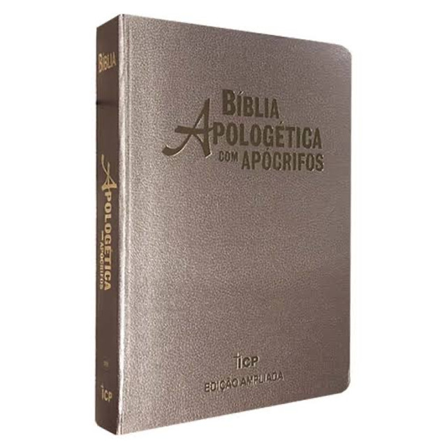 Bíblia de estudo apologética com apócrifos  - Foto 3