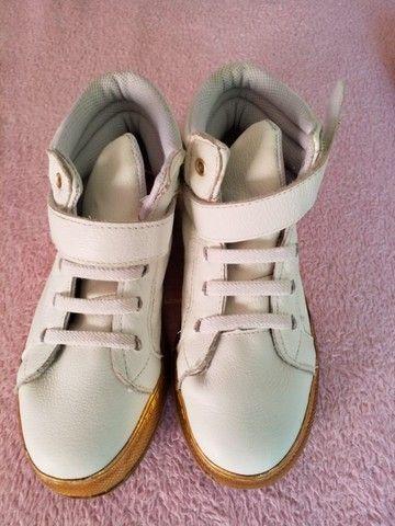 Conjuntos de TRÊS (3 pares) de tênis infantil menina (1 NOVO) marca BIBI - Foto 3