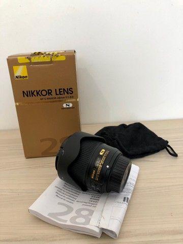 Lente Nikon 28 mm 1.8 - Foto 2