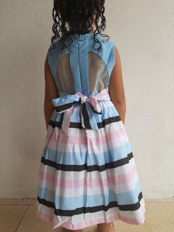 Vestido infantil tm:6anos