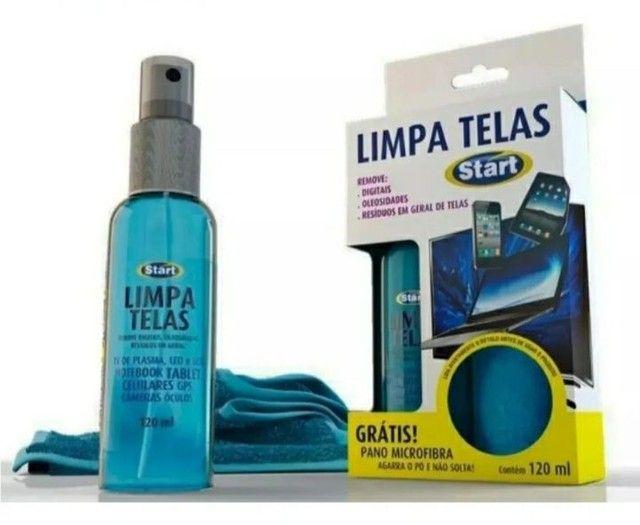 Kit limpa telas bactericida para tablets notebooks e celulares  - Foto 2