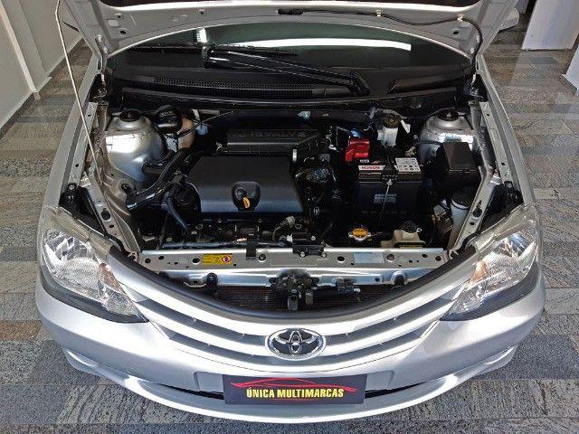 Toyota Etios X 1.3 completo / Multimidia Original / Pneus novos / Ipva Pago - 2016 - Foto 16