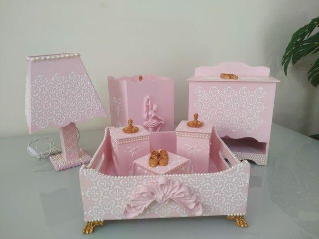 Kit higiene bebê luxo - Foto 6