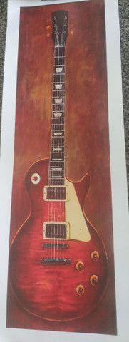 Poster guitarra novo 75×25 cm