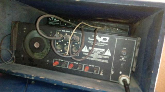 Vendo amplificador jhd triamplifier + crossover - Foto 2